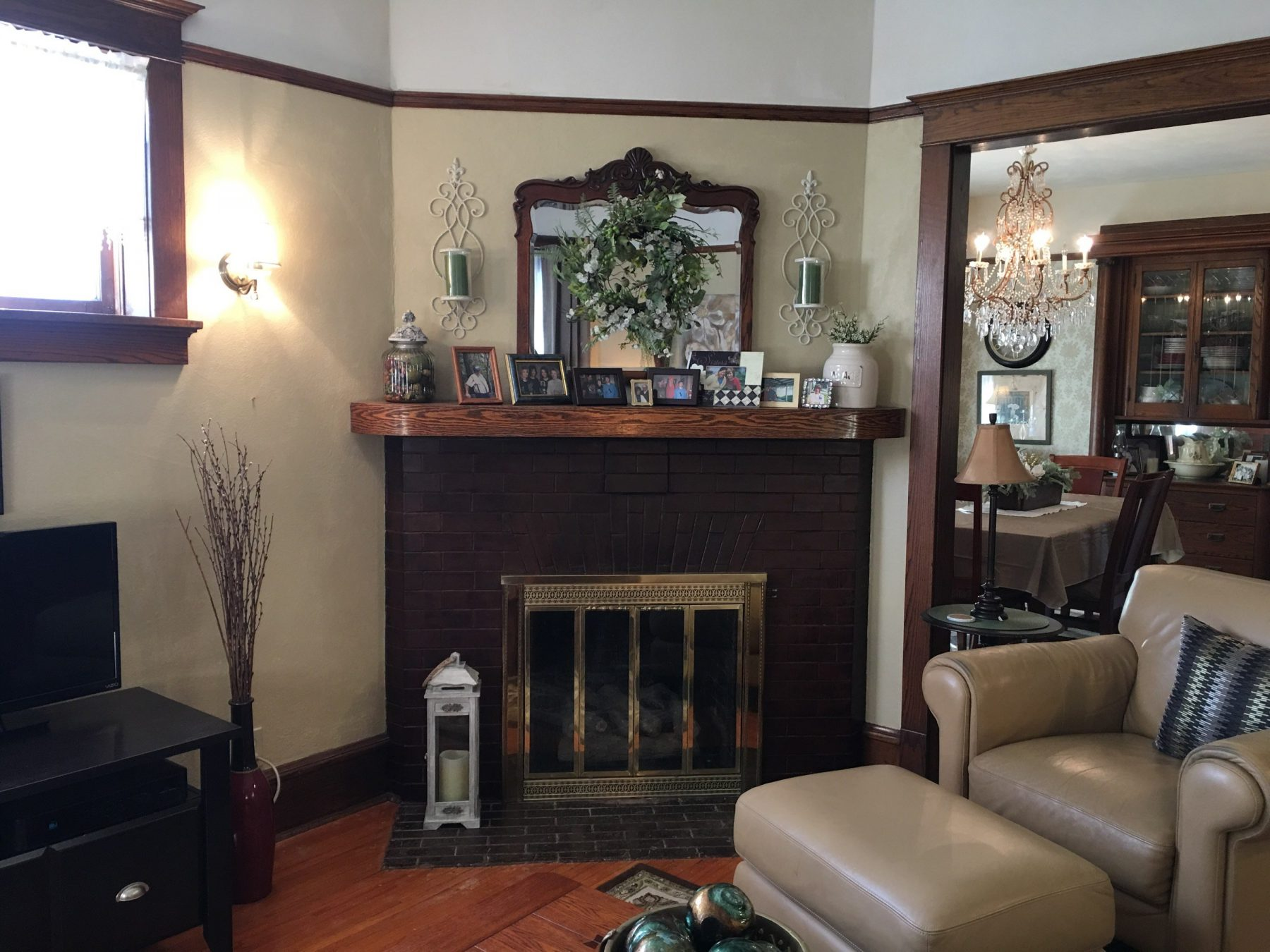 Hembrough Living Room Fireplace